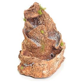 Ruscello resina per presepe 20x17x22 cm s1