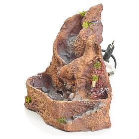 Arroyo de resina de 17x22x18cm s2