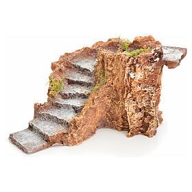 Escalier en miniature pour crèche 11x19x18 s3
