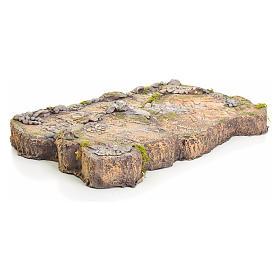Base in resina per presepe 7x50x34 cm s3