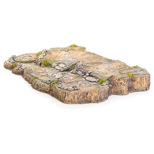 Base in resina per presepe 7x50x34 cm 2