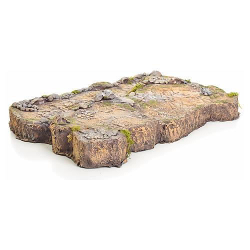 Base in resina per presepe 7x50x34 cm 3