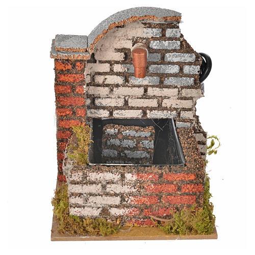 Fontaine en miniature avec pompe eau 13x10x12cm 1