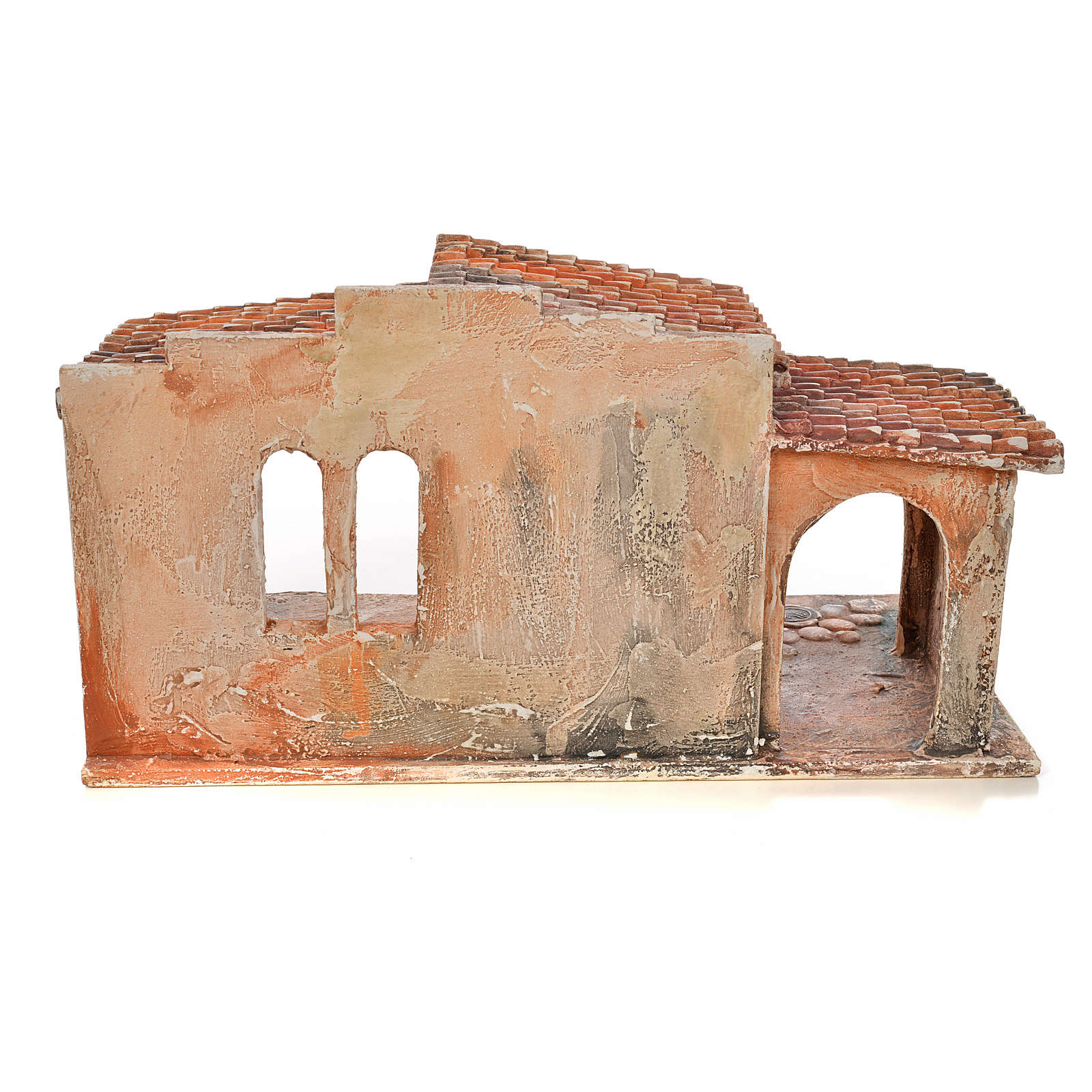 Capanna presepe Fontanini cm 12 4