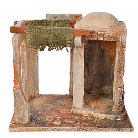 Maisons, milieux, ateliers, puits: Tente milieu crèche Fontanini 12 cm