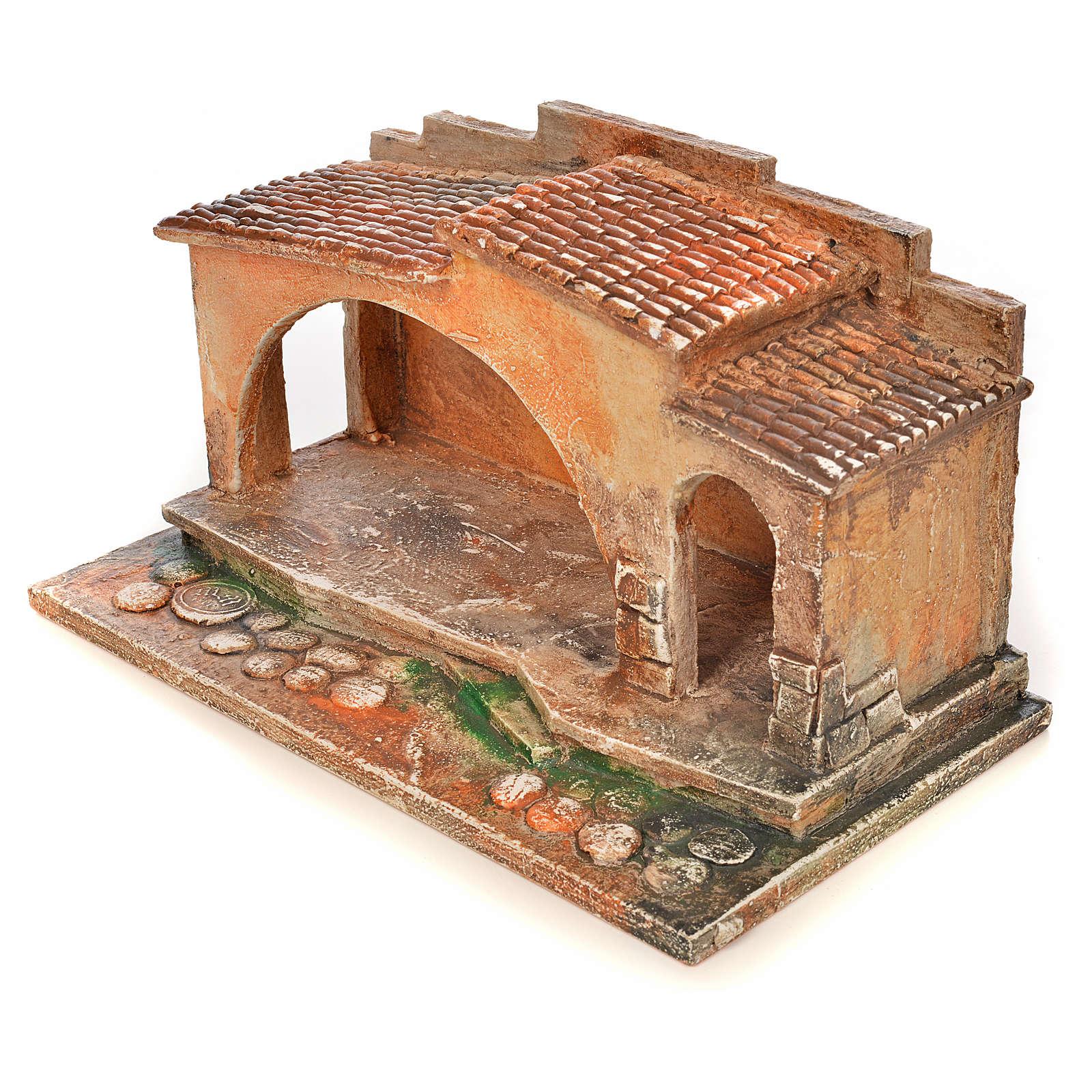 Etable crèche Fontanini 6,5 cm 4