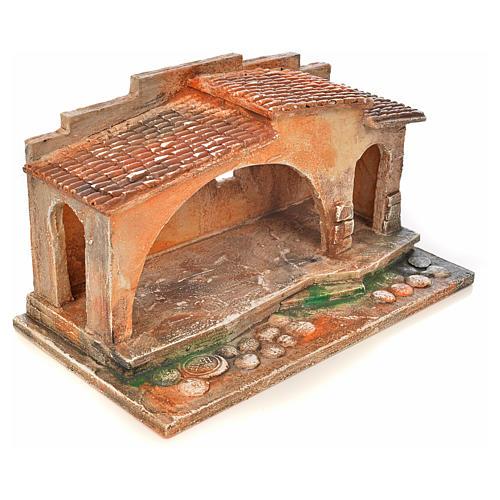 Etable crèche Fontanini 6,5 cm 2