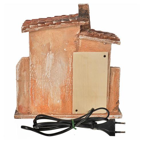 Forno elettrico ambiente presepe Fontanini cm 12 8