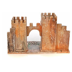 Borgo con torri presepe Fontanini 6,5 cm s4
