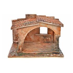 Capanna stile arabo presepe Fontanini cm 12 s1
