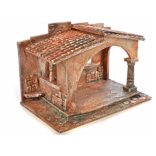Capanna stile arabo presepe Fontanini cm 12 2
