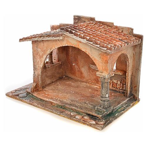 Capanna stile arabo presepe Fontanini cm 12 3