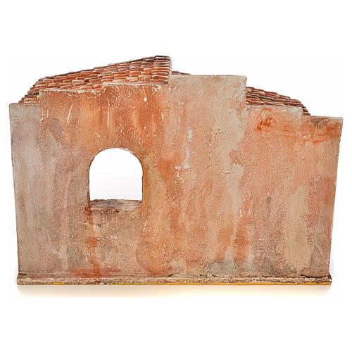 Capanna stile arabo presepe Fontanini cm 12 4