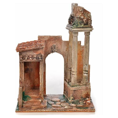 Colonnes romaines crèche Fontanini 12 cm 1