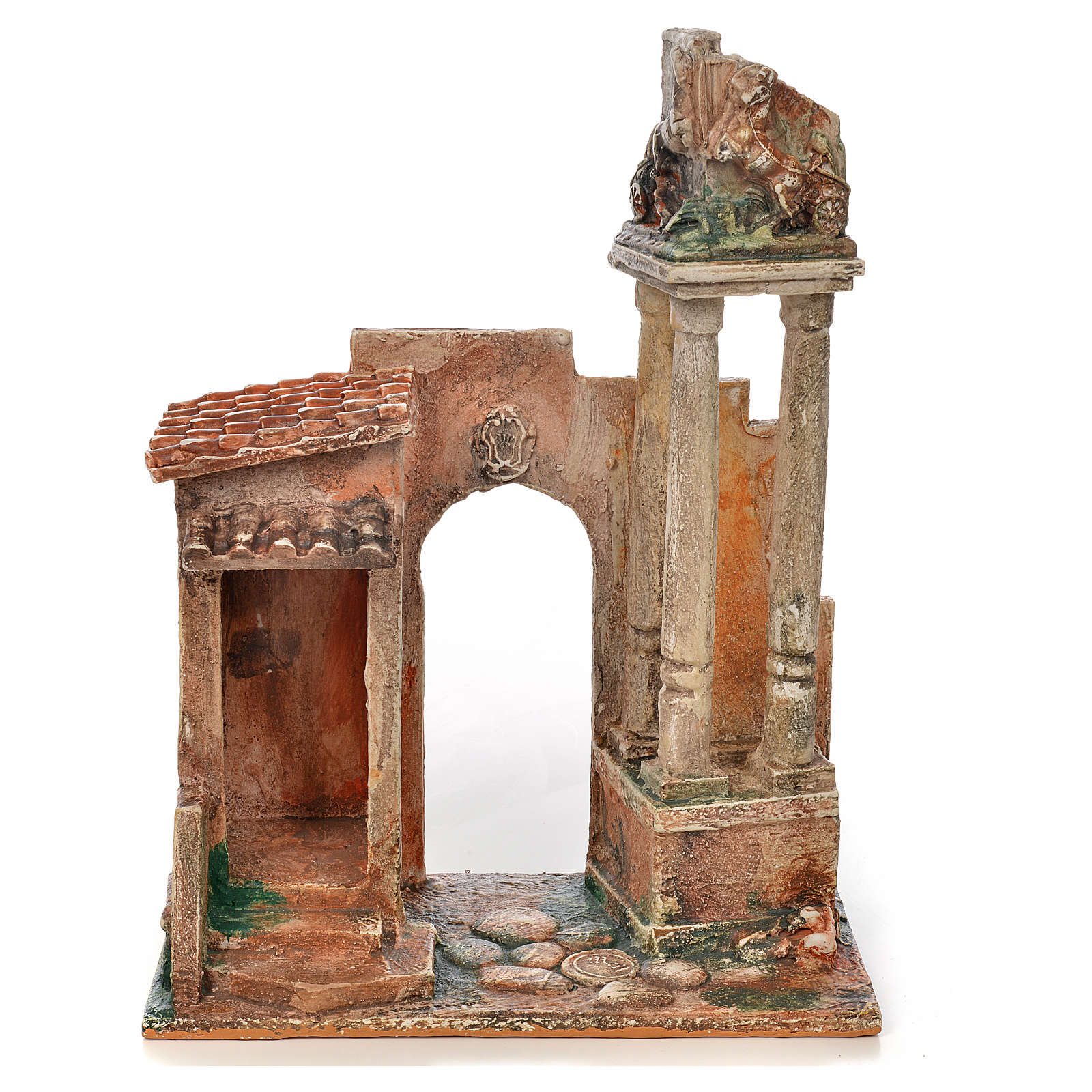 Colonne romane presepe Fontanini cm 12 4