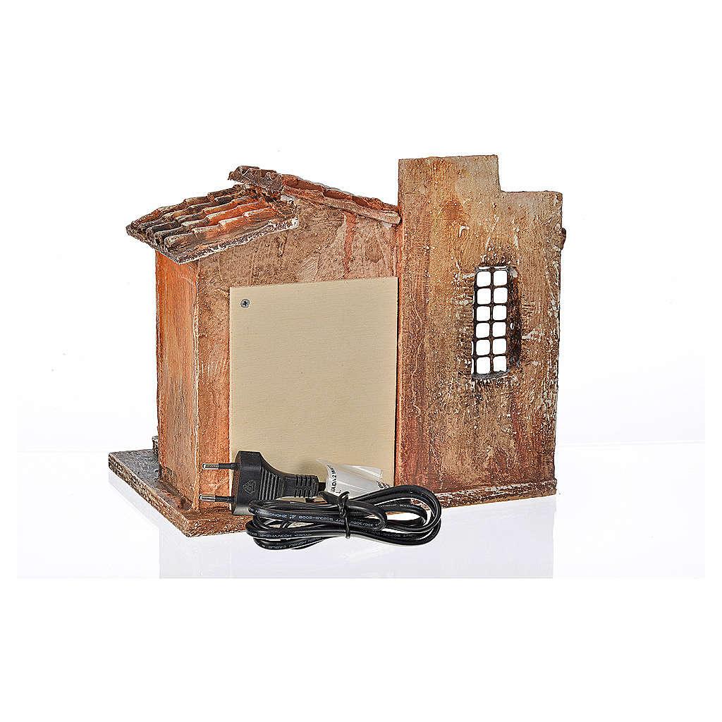 Fuente eléctrica escenografía para el belén 12 cm. Fontanini 4