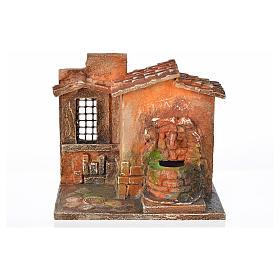 Fontaine électrique en miniature crèche Fontanini s5