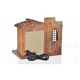 Fontaine électrique en miniature crèche Fontanini s8