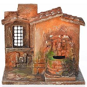 Fontaine électrique en miniature crèche Fontanini s1