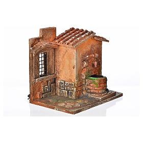 Fontaine électrique en miniature crèche Fontanini s2