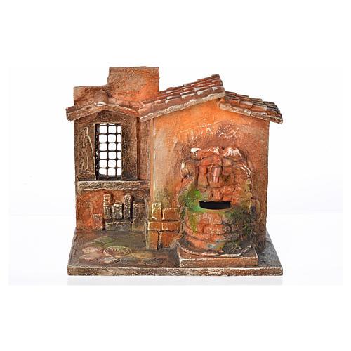 Fontaine électrique en miniature crèche Fontanini 5