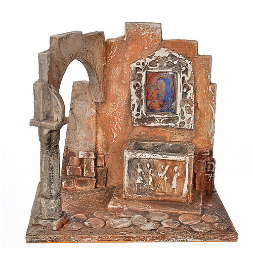 Sarkophag mit Ikone Krippe Fontanini 12 cm 1