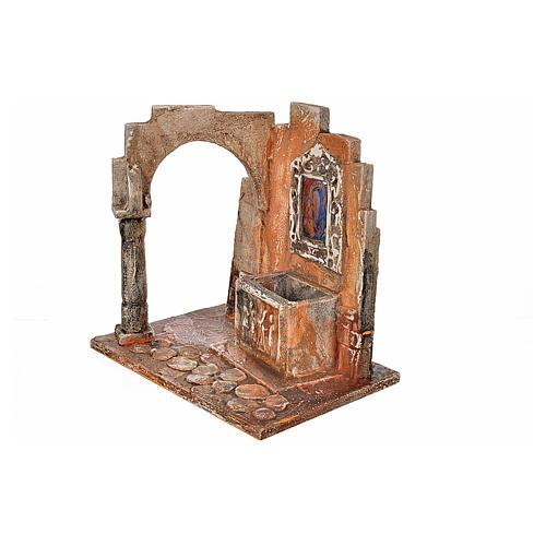 Sarkophag mit Ikone Krippe Fontanini 12 cm 3