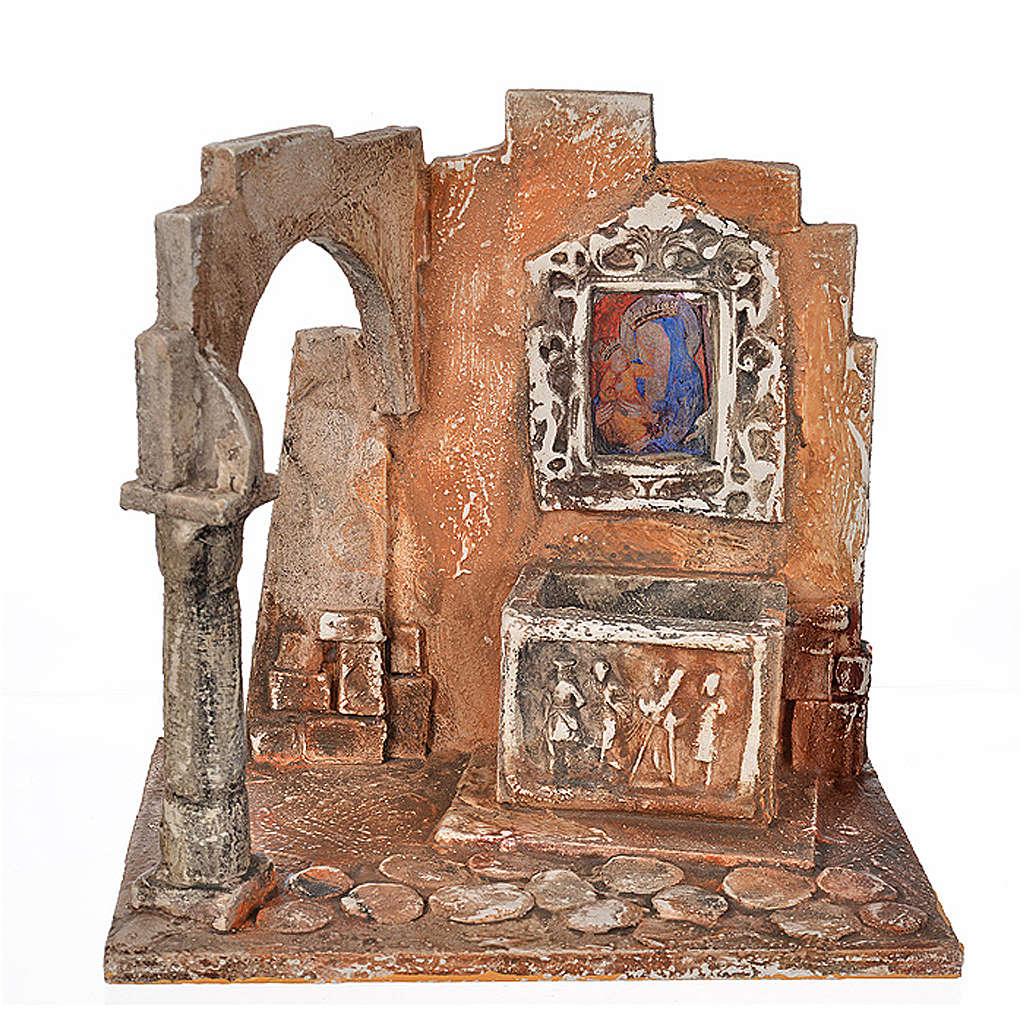 Sarcófago con ícono pesebre Fontanini cm. 12 4