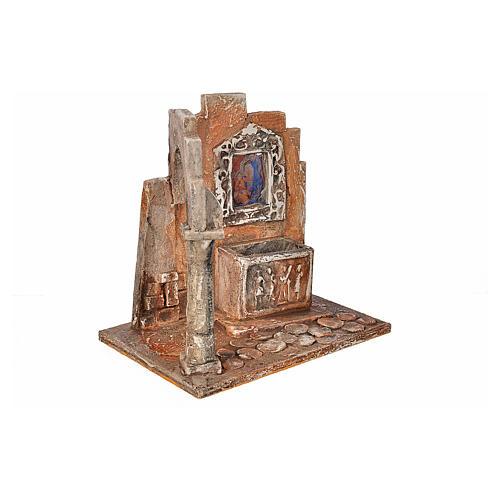 Sarcófago con ícono pesebre Fontanini cm. 12 2