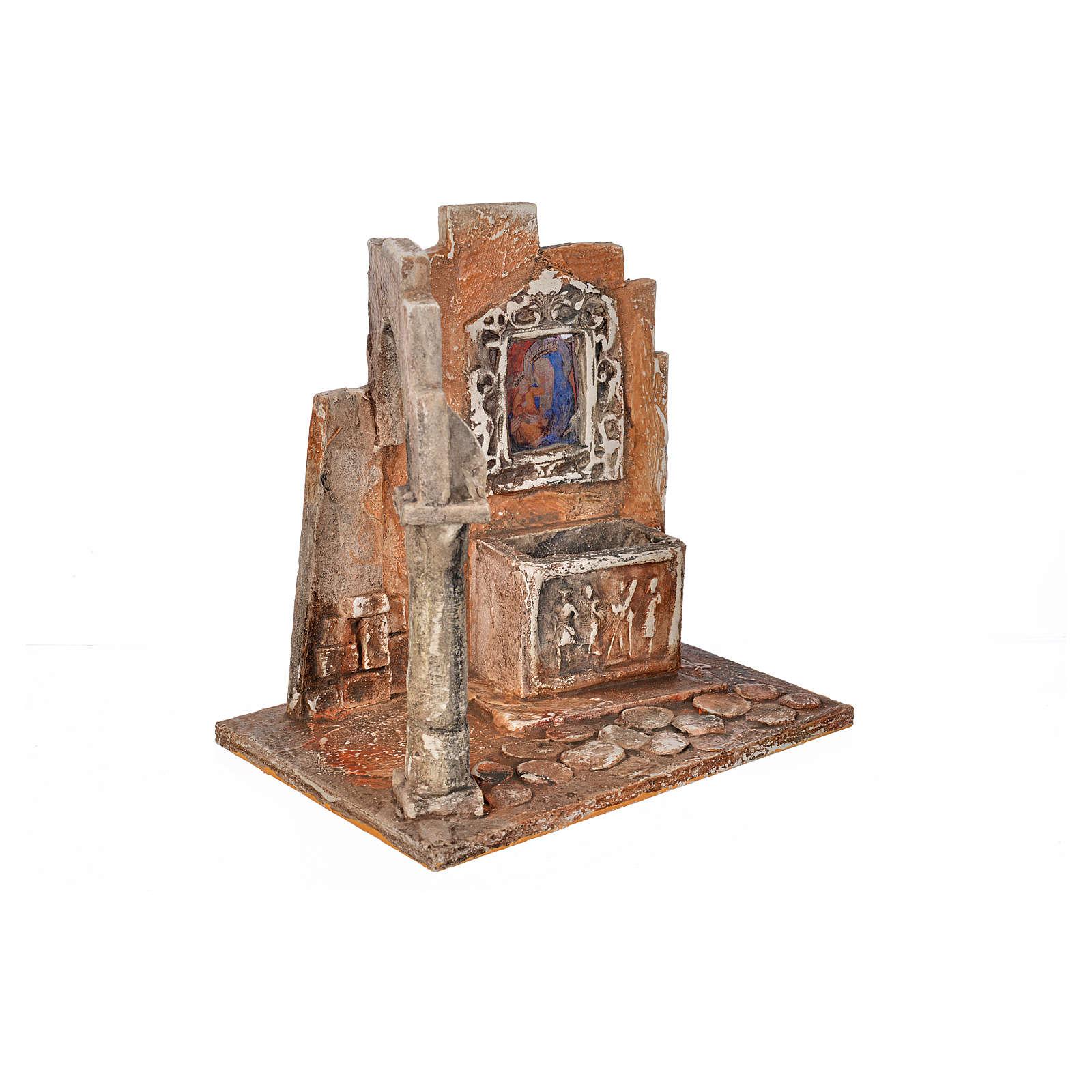 Sarcofago con icona presepe Fontanini cm 12 4