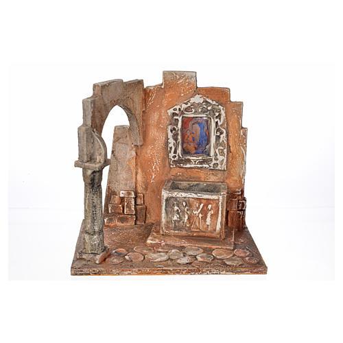 Sarcofago con icona presepe Fontanini cm 12 5