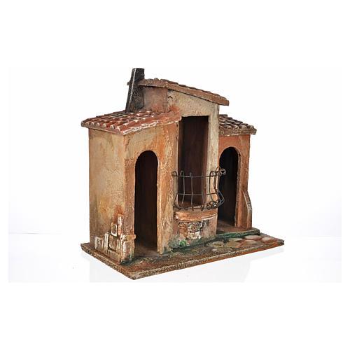 Borgo presepe Fontanini cm 12 6