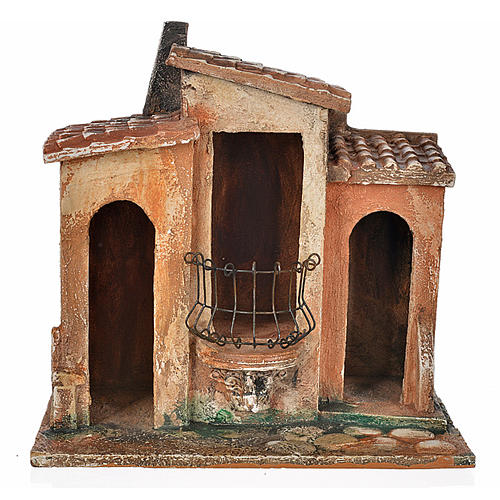 Borgo presepe Fontanini cm 12 1