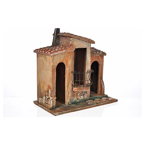 Borgo presepe Fontanini cm 12 2