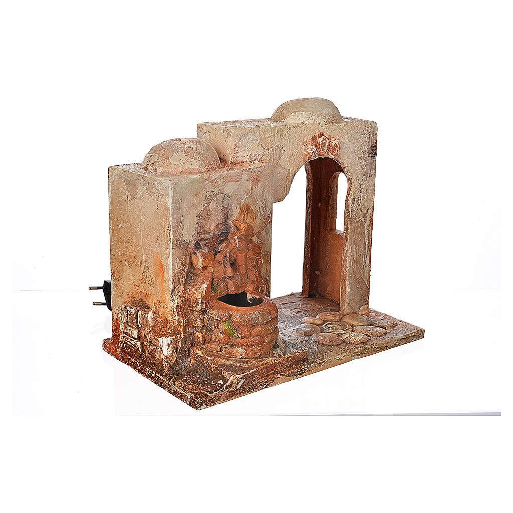 Brunnen elektrisch Krippe 12 cm Fontanini 4