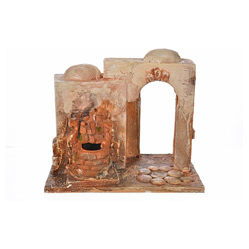 Brunnen elektrisch Krippe 12 cm Fontanini 5