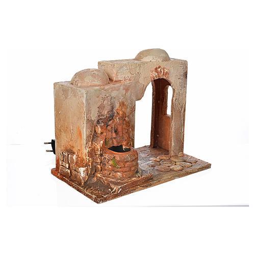 Brunnen elektrisch Krippe 12 cm Fontanini 2