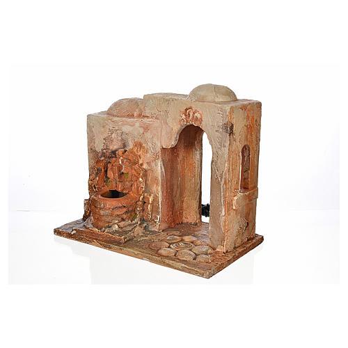Brunnen elektrisch Krippe 12 cm Fontanini 3