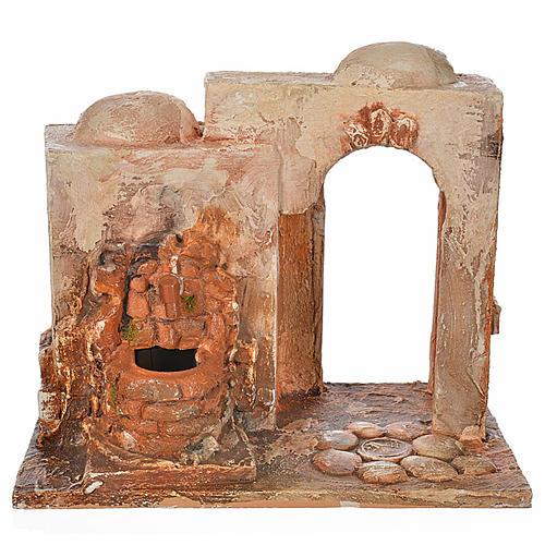 Fontaine électrique crèche Fontanini 12 cm 1