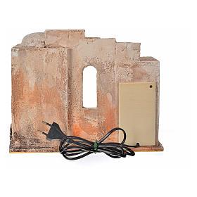 Forno eléctrico cenário presépio 12 cm Fontanini s8