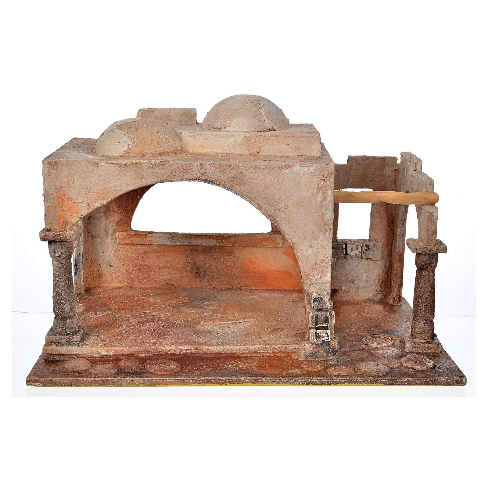 Portal pesebre Fontanini cm. 12 4