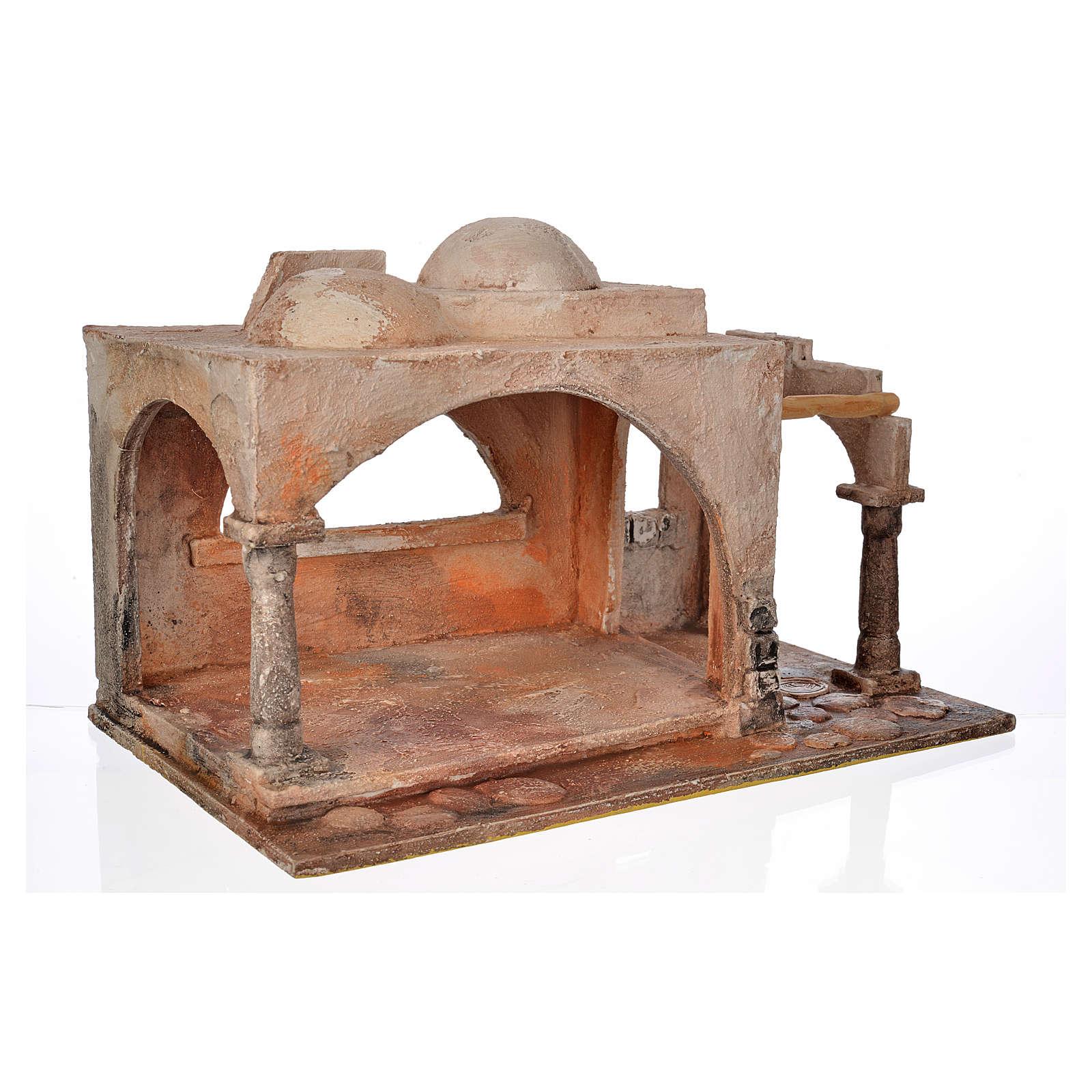 Étable style arabe crèche Fontanini 12 cm 4