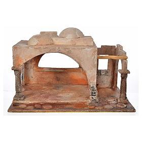 Étable style arabe crèche Fontanini 12 cm s1