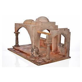 Étable style arabe crèche Fontanini 12 cm s3