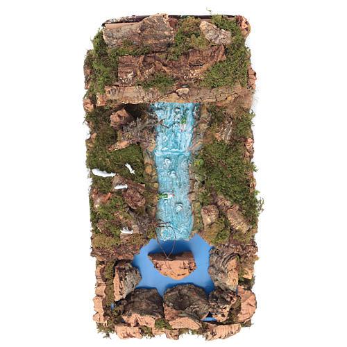 Cascada véu com ribeira e bomba 60x34 cm 2