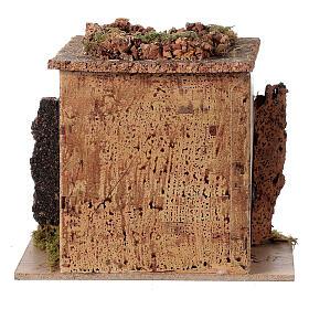 Magasin tonnelier en miniature crèche 15x10 cm s4