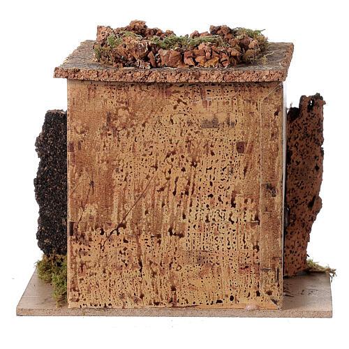 Magasin tonnelier en miniature crèche 15x10 cm 4