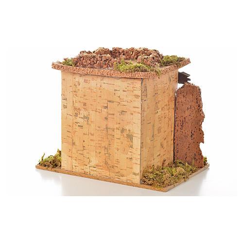 Magasin fruits en miniature crèche 15x10 cm 2