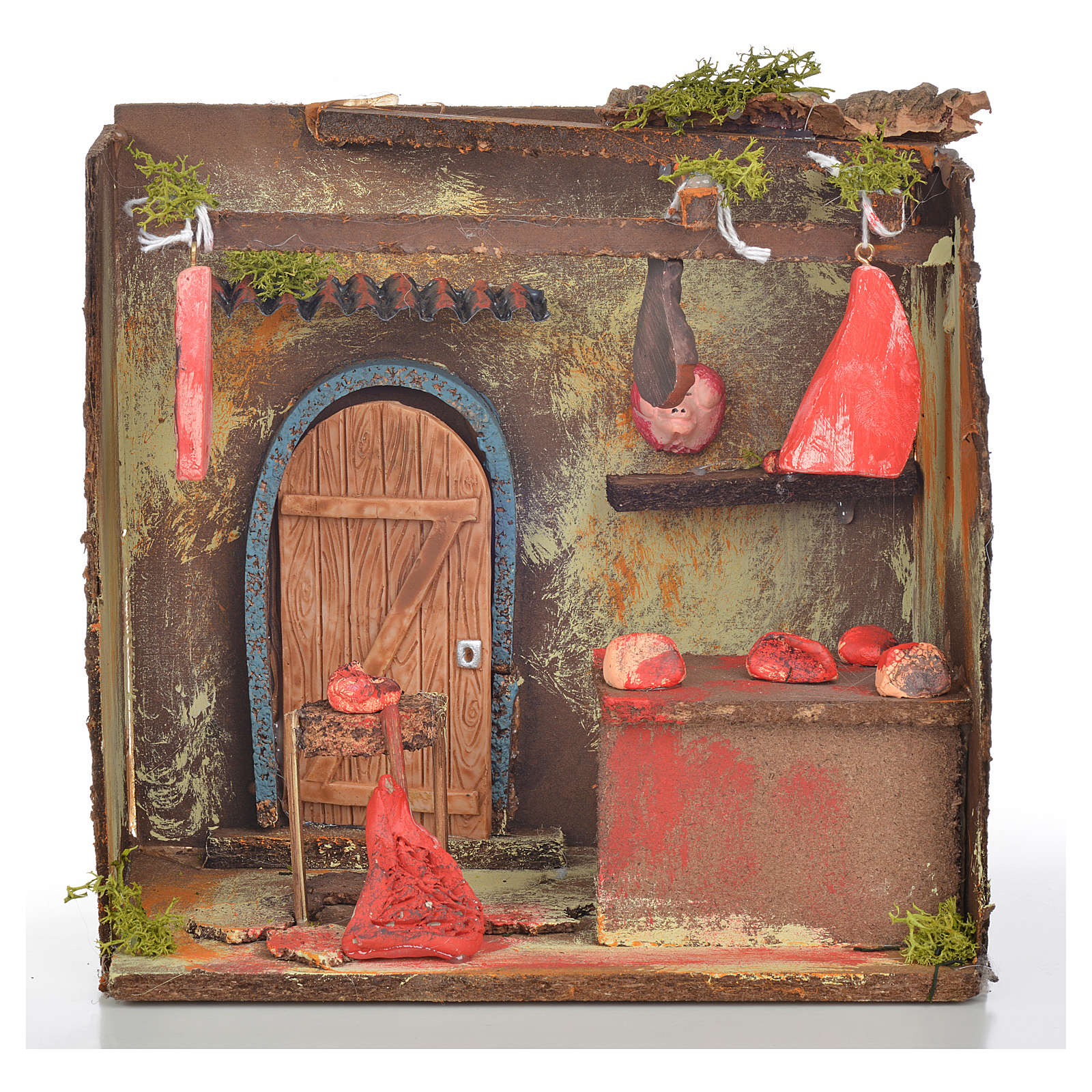 Loja do açougueiro miniatura 20x14x20 cm 4