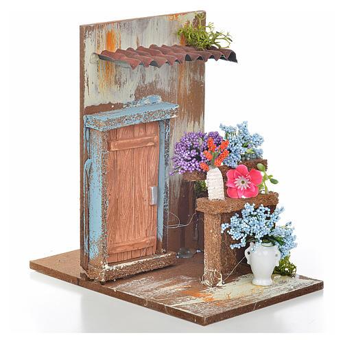 Tienda floristería 9.5x9.5x15 cm. 2
